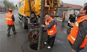 市政污水池清理