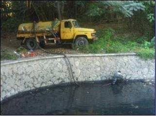 武昌污水池清理