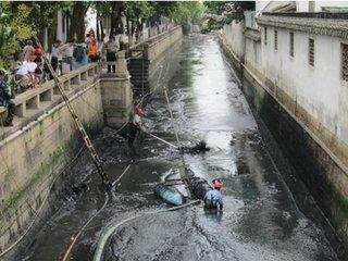 武汉河道清淤