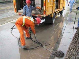 江岸管道疏通清洗