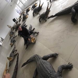 鳄鱼生态养殖基地