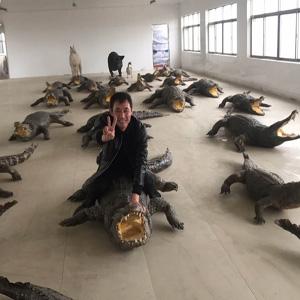 鳄鱼养殖中心