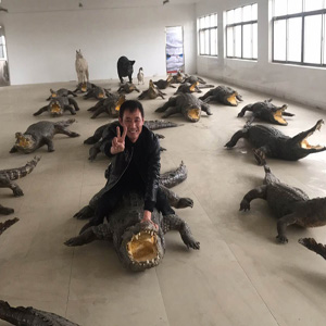鳄鱼生态养殖技术