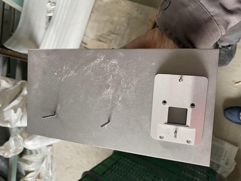 CNC铝型材喷砂定制工装
