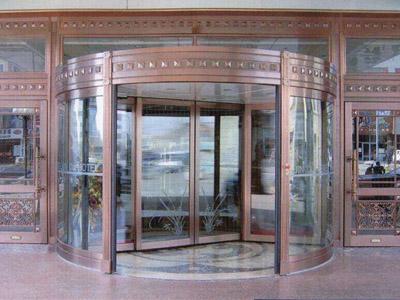 【方法】带你一起来看石家庄旋转门 旋转门的主要材质是什么