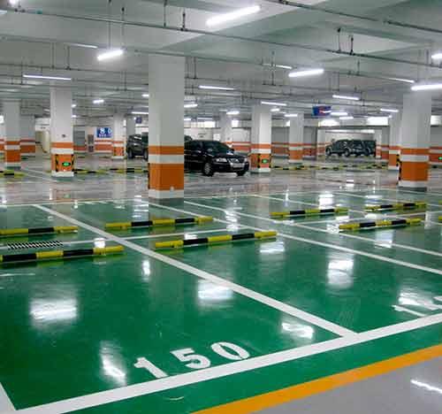 贵阳停车场护角设施