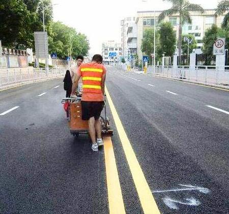 交通标线施工