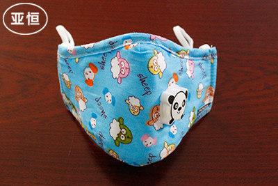 儿童带呼吸阀口罩