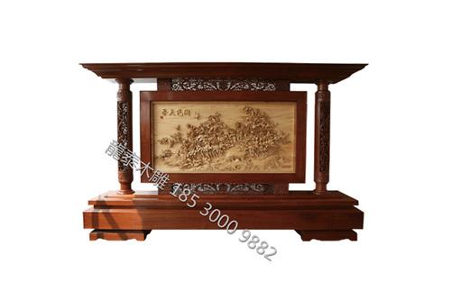 河南木雕屏风加工设计