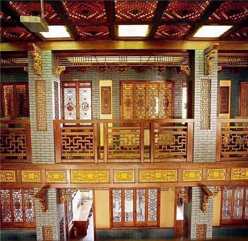 木雕仿古门窗