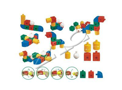 Desktop toy building blocks