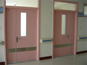 医院楼道门