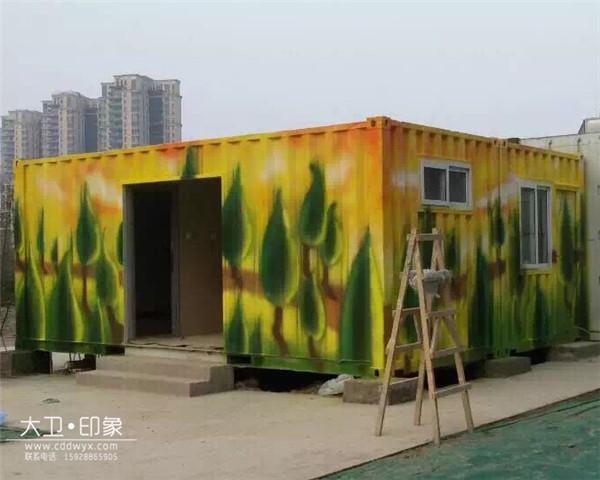 成都墙体彩绘公司
