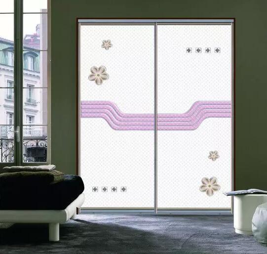 皮纹衣柜门