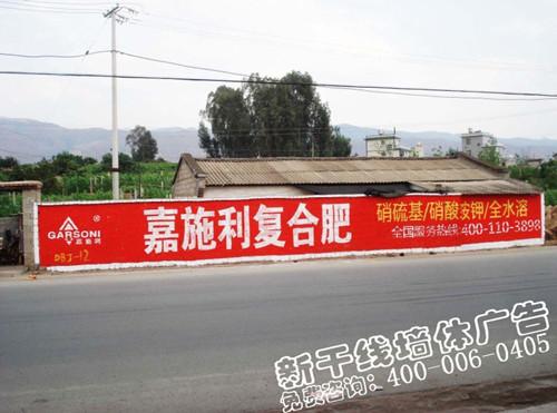 安徽墙体广告