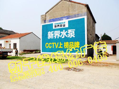 乡镇墙体广告