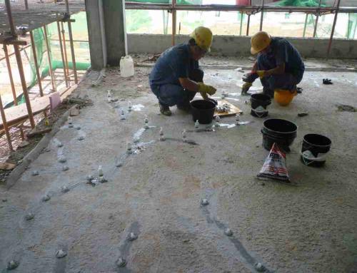 混凝土裂缝修补