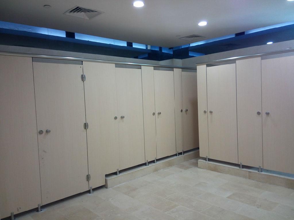 开放式卫生间隔断
