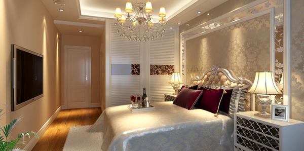 欧式卧室效果图
