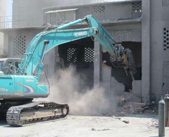 废旧厂房拆除施工