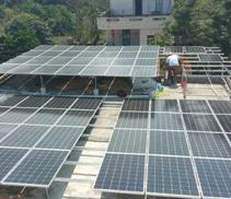 昆明屋頂分布式光伏發電係統