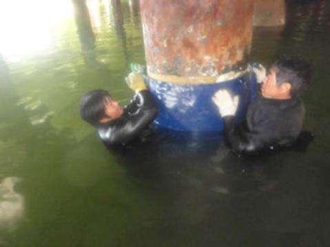 水下拆除施工方法