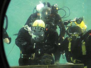 水下潜水打捞