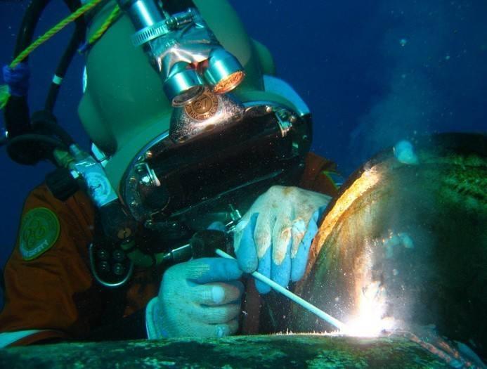 水下切割安装