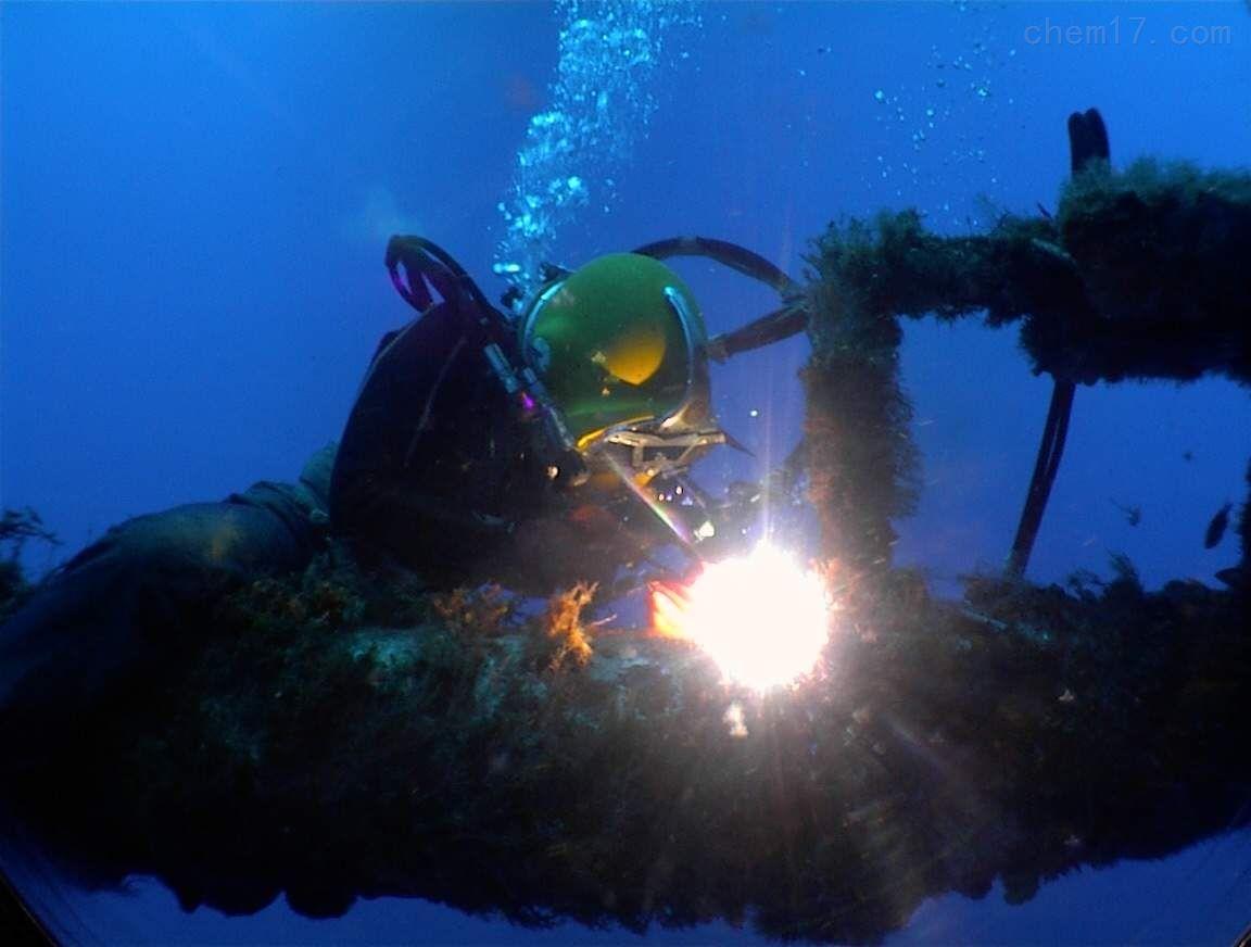水下电焊焊接安装