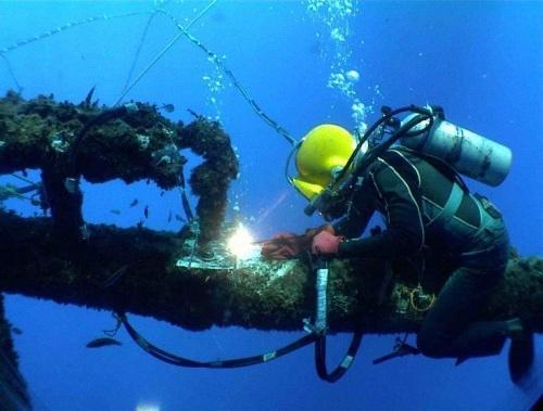 水下管道拆除
