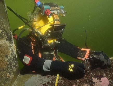 水下打捞气震