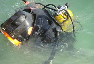 水下打捞切割
