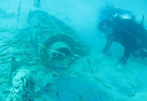 沉船水下打捞