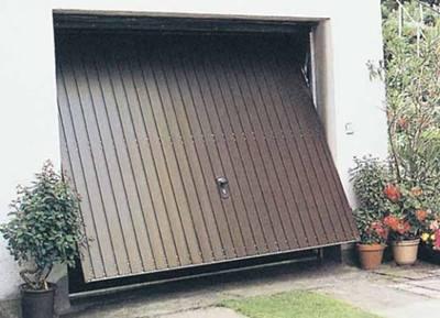 貴陽自動翻板車庫門