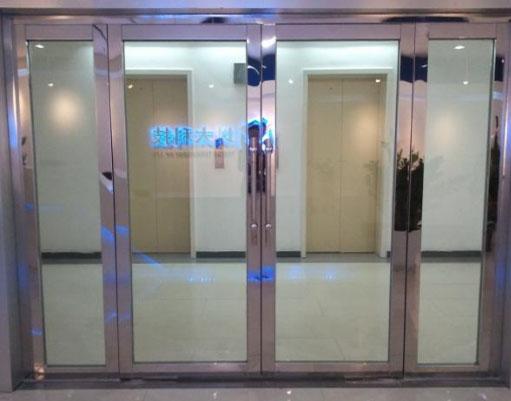 貴陽感應玻璃門