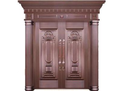 石家庄铜门安装