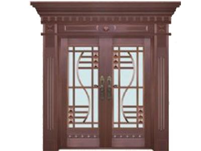 石家莊玻璃銅門