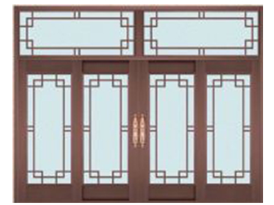 石家莊玻璃銅門安裝