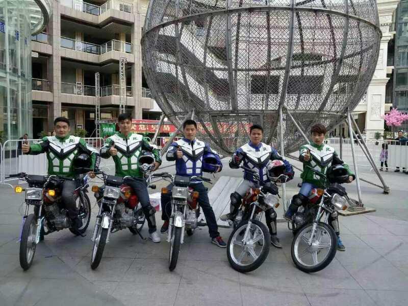 摩托车表演