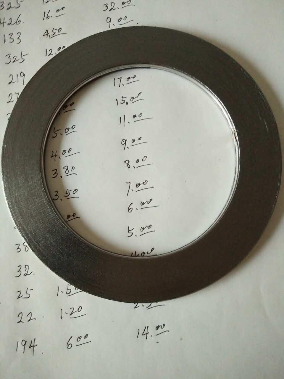 金属缠绕垫