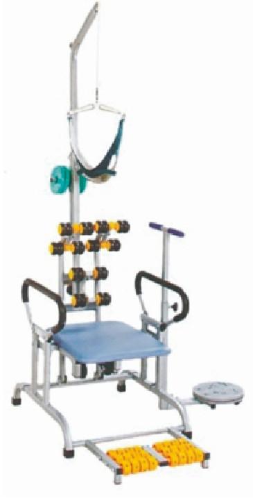 颈椎牵引椅(带按摩轮)