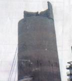 218米砼钢囱撤除