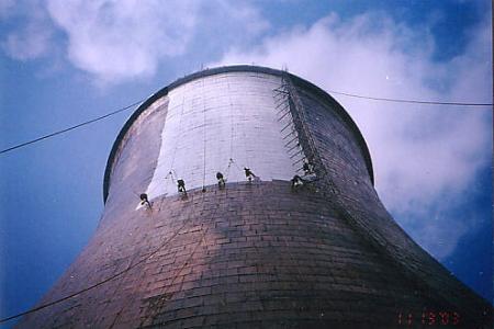 冷却塔外壁防腐