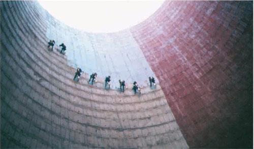 冷却塔内壁防腐工程