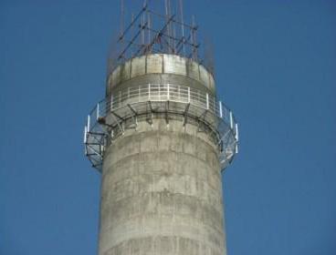 砖厂烟囱新建