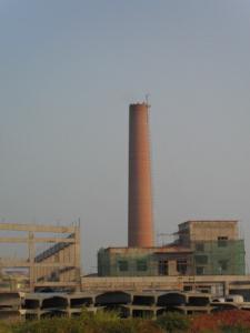 造纸厂烟囱新建