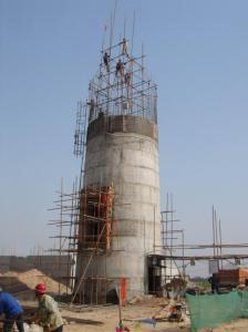电厂新建烟囱