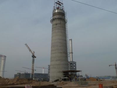 新建混凝土烟囱