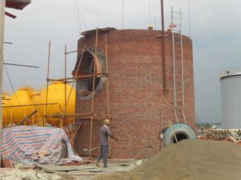 新建砖混烟囱