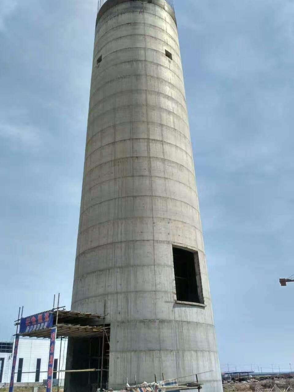 水泥烟囱建筑